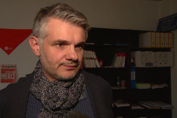 Jean-Paul Parot est le secrétaire général de la CFDT pour la Nouvelle-Aquitaine et membre du bureau national du syndicat.
