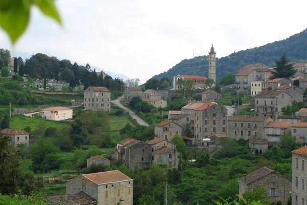 La commune de Levie, en Corse-du-Sud