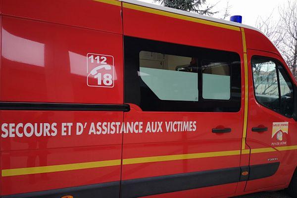 Une piétonne de 87 ans grièvement blessée à la jambe à Clermont-Ferrand. Elle a été percutée par un camion benne.