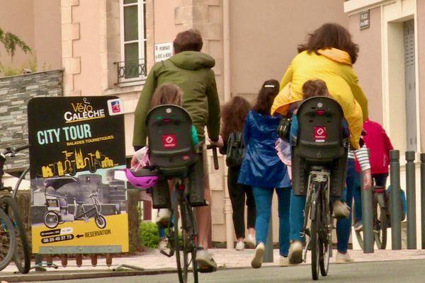 Angers expérimente la journée sans voiture dans son hyper-centre