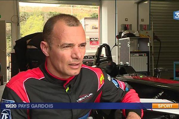Stéphane Sarrazin, pilote alésien de Formula E