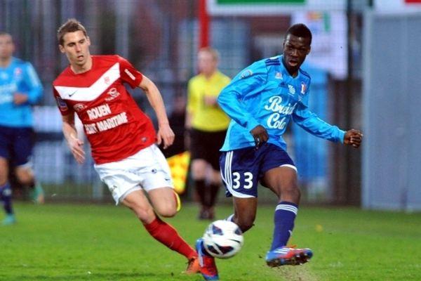 Le FCR Rouen a gagné 1-0 face à Vannes.
