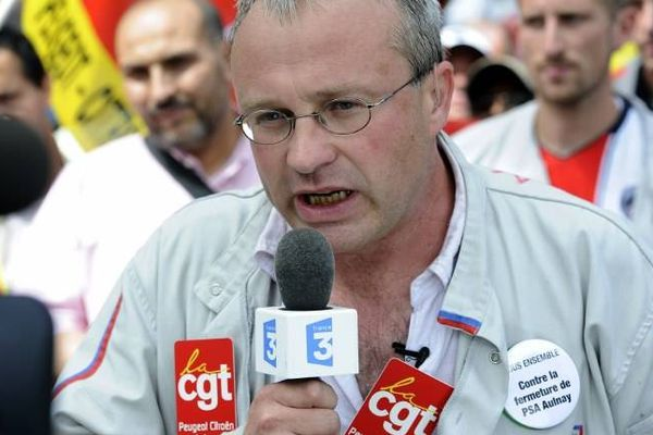 Jean-Pierre Mercier, porte parole CGT PSA Aulnay