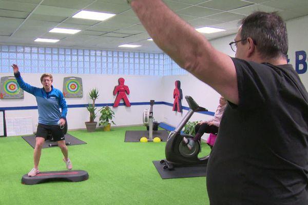 Les séances de sport des utilisateurs de la salle ont été prescrites par leur médecin.