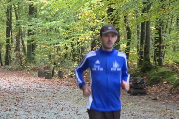 Mickaël Chaumond, champion limougeaud de course, va s'attaquer à son premier matathon à La Rochelle, le 24 novembre prochain.: objectif Marathon !