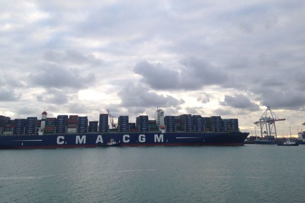 Le Bougainville est arrivé vendredi matin à Dunkerque et repartira vers 7 heures samedi matin
