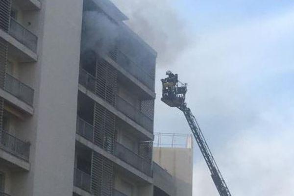 Un incendie s'est déclaré dans un appartement du cours Général Leclerc à Ajaccio mardi 29 octobre.