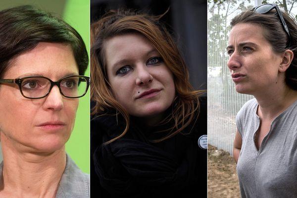 Sandrine Rousseau, Charlotte Talpaert et Marine Tondelier font partie des 33 candidats investis par EELV dans le Nord et le Pas-de-Calais