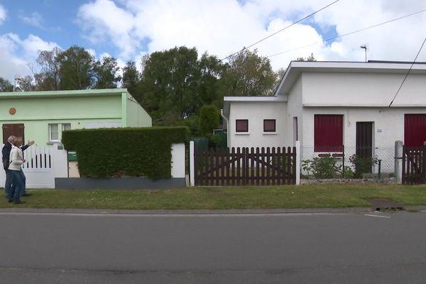 Maisons de plain-pied à Fort-Mahon concernés par la mesure inscrite dans le plan de prévention des risques naturels
