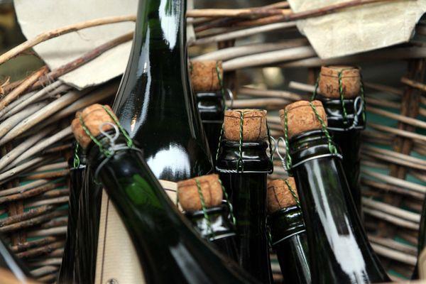 Difficile de vendre des bouteilles de cidre sur les marchés de la région