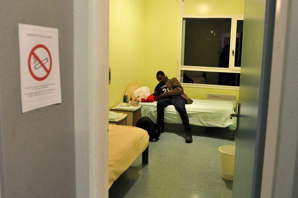 Dans le CAO de Pessat-Villeneuve, le 03 novembre 2015, à l'arrivée de Calais de 48 réfugiés.
