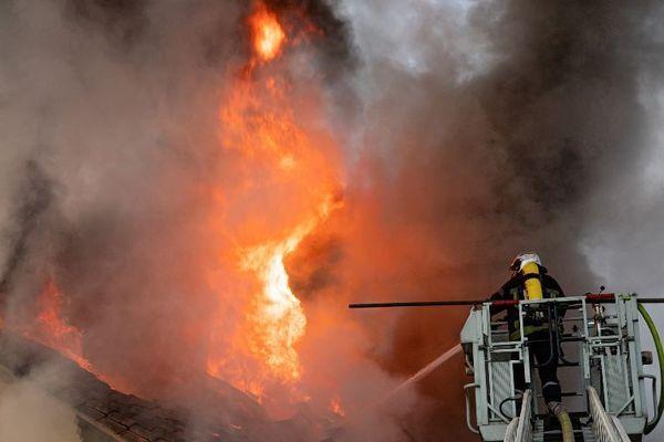 L'incendie mortel s'est déclaré au petit matin sur la commune de Boulazac en Dordogne