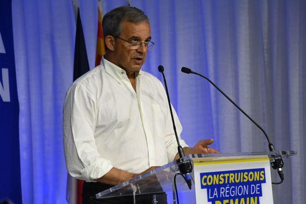 Thierry Mariani n'a pas réussi à offrir au RN sa première région au second tour des élections régionales en Paca.