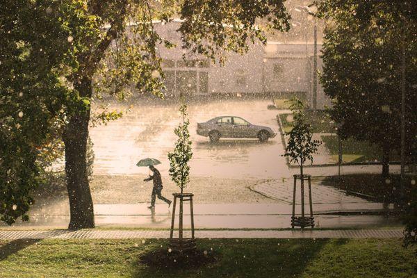 Pluie en continu ou presque