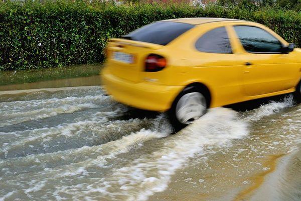 Inondations dans le Pas-de-Calais en 2012