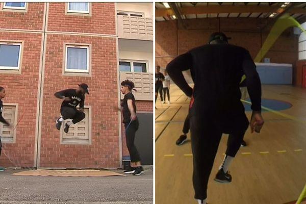 Le double dutch est l'une des disciplines de corde à sauter sportive, qui allie agilité et endurance.
