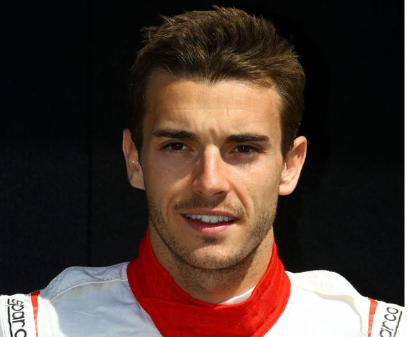 Jules Bianchi, le 13 mars 2014.