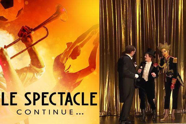 """Le spectacle continue... avec """"La Chauve-Souris"""", une opérette de Johann Strauss"""