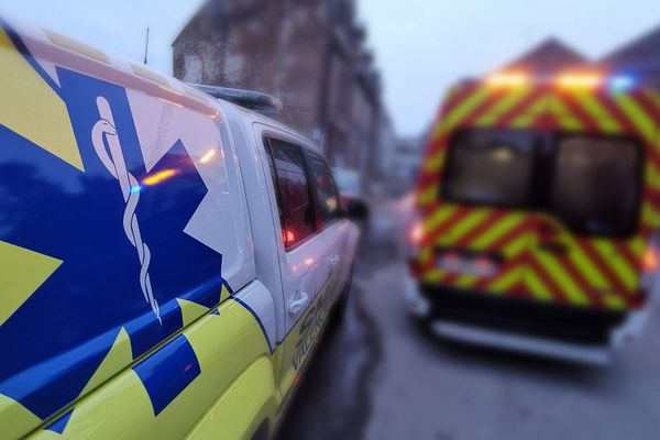 La victime a retrouvé ses esprits dans l'ambulance qui la transportait à l'hôpital.