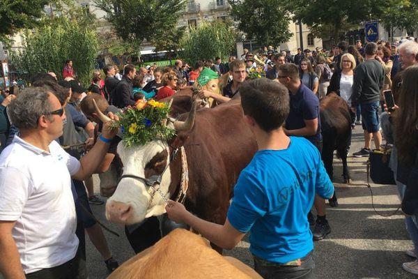 """9è édition de la """"Descente des Alpages"""" à Grenoble"""