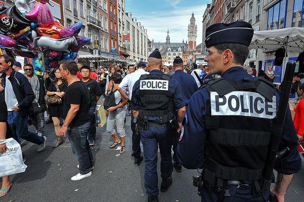 Il y a eu 171 interventions policières durant l'édition 2015 de la braderie de Lille.