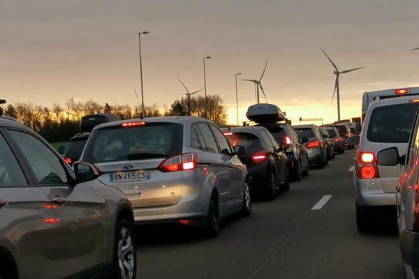 Circulation à l'arrêt tôt ce samedi 8 février sur l'A6