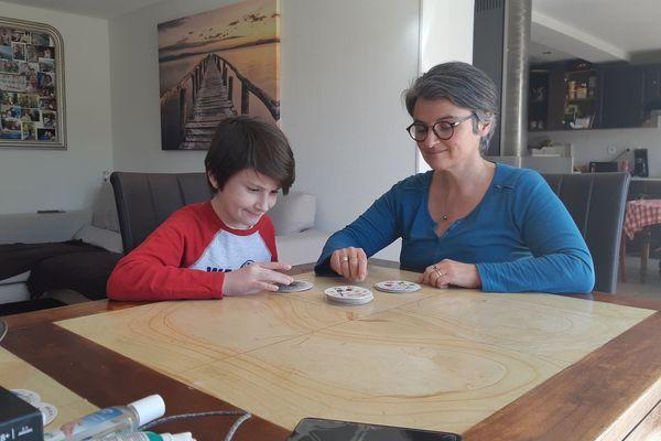 """""""Sacha sait qu'il fait partie des personnes à risques"""" explique Chantal, sa maman"""