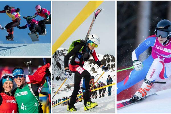 Margot Ravinel en ski alpinisme, Mathieu Garcia et Jeanne Richard en biathlon... Voici les jeunes espoirs français.