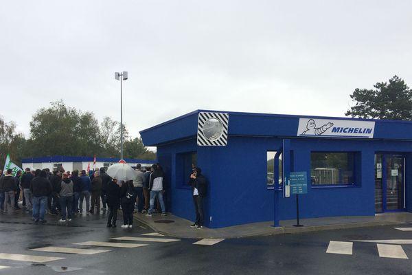 L'usine Michelin de la Roche-sur-Yon, le 10 octobre 2019