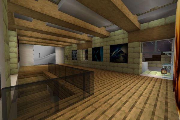 La corbata rosa a réalisé un tutoriel, expliquant aux joueurs possesseurs du jeu MineCraft, comment découvrir l'exposition depuis chez eux.