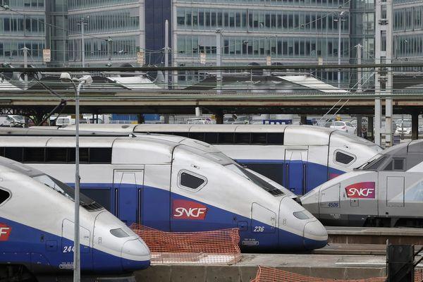 Les trains sont annoncés à l'heure mais le trafic est très ralenti entre Lyon et Paris