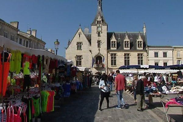Un jour de marché à Libourne