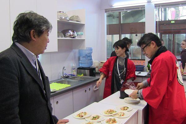 Un stand japonais au salon de l'agriculture pour la première année
