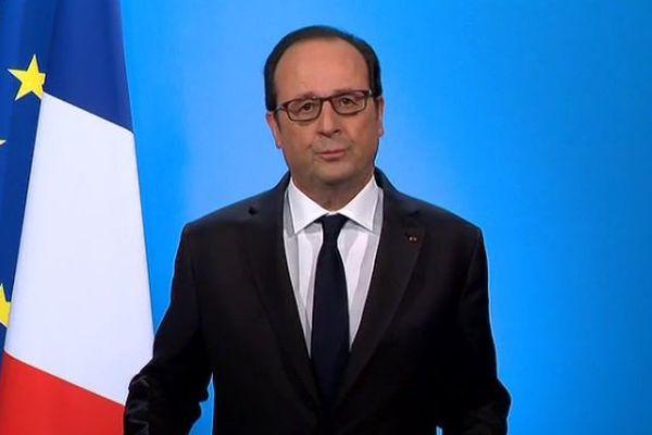 François Hollande a fait son annonce à l'Elysée