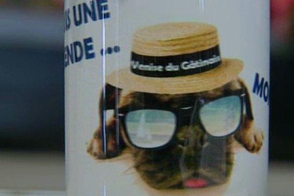 Le Chien de Montargis est devenue la mascotte de la ville.