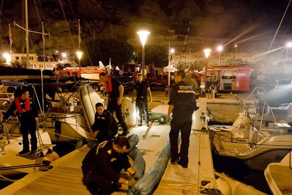 Photos: PM Philippe Sola/ communication marins-pompiers