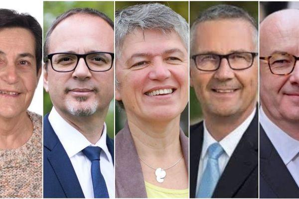 Cinq candidats s'affrontaient au premier tours de l'élection municipale à Bourges : Colette Cordat (LO), Yann Galut (PS, EELV, LFI), Irène Félix (PS), le maire sortant Pascal Blanc (MR), Philippe Mousny (LR)