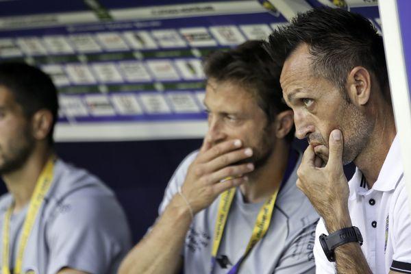 José Manuel Aira, coach du FCSM, va devoir remonter le moral des troupes après un match en demi-teinte.