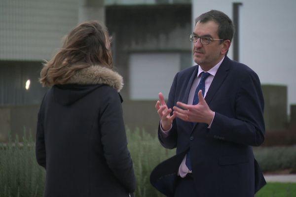 François Brière, maire sortant DVD de Saint-Lô, candidat à un second mandat