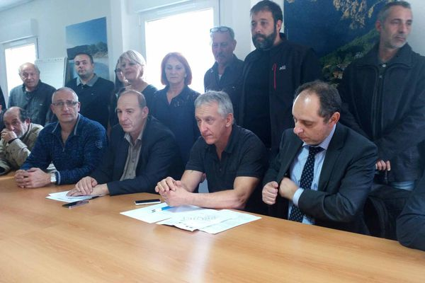 L'occupation de la Direccte est levée. Ajaccio, le 1er avril 2016.