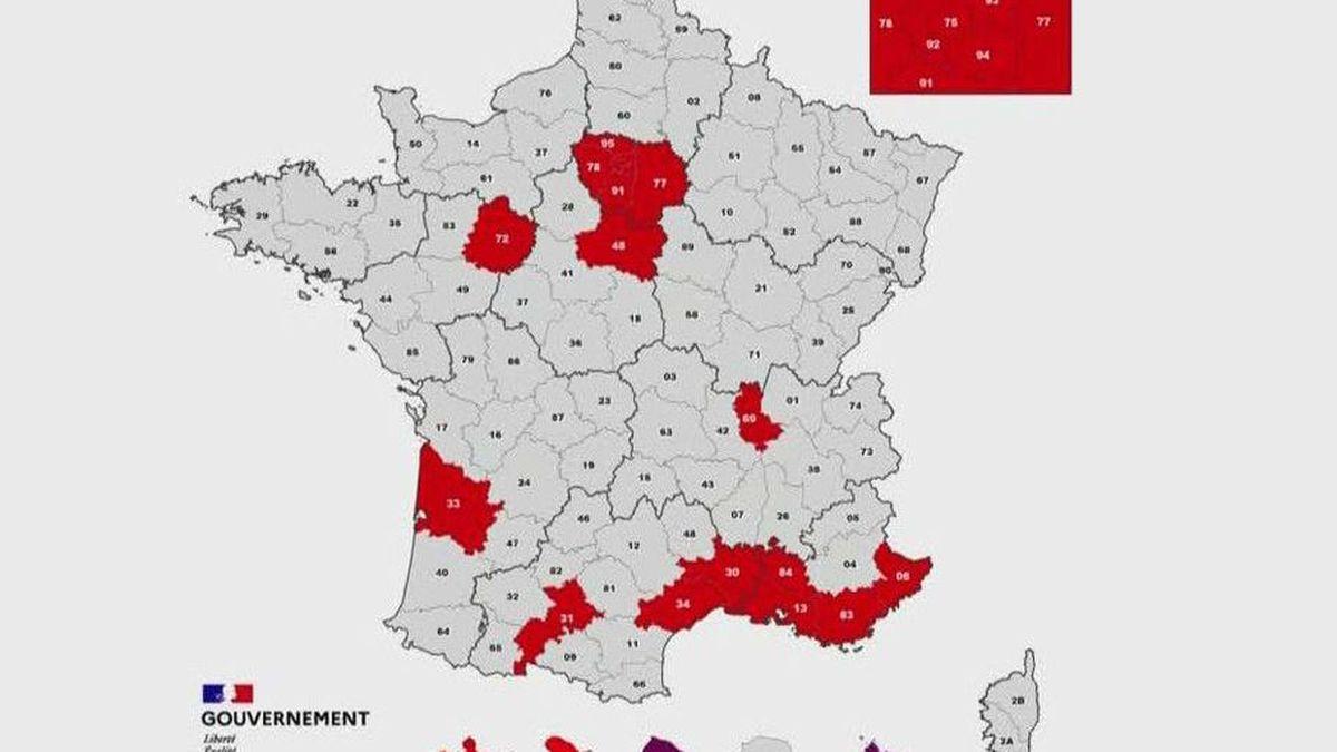 Coronavirus L Herault Le Gard Et La Haute Garonne Classes En Zone Rouge De Circulation Active Du Virus