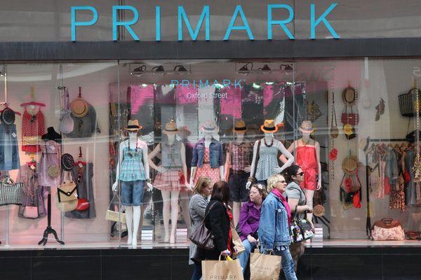 Le magasin Primark à Londres.