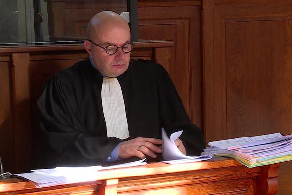 Maître Thierry Sagardoytho, Avocat de la famille de Baptiste Sallefranque. 10/03/21
