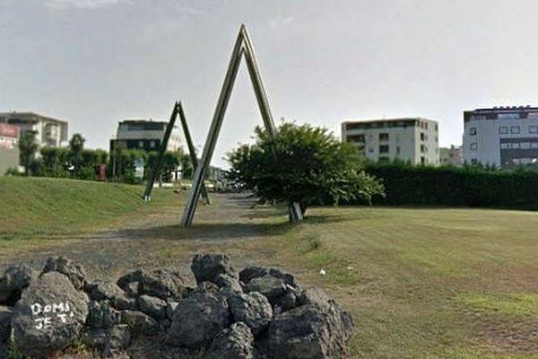 Le rond point du Grand M à Montpellier