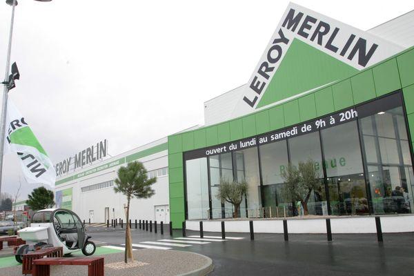 Le magasin Leroy Merlin de Valence.