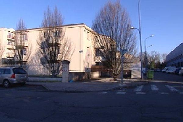 La résidence où résidait le jeune étudiant à Talence, dans un quartier très calme