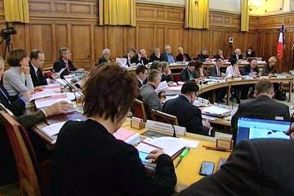 L'assemblée départementale à Mâcon (archive)