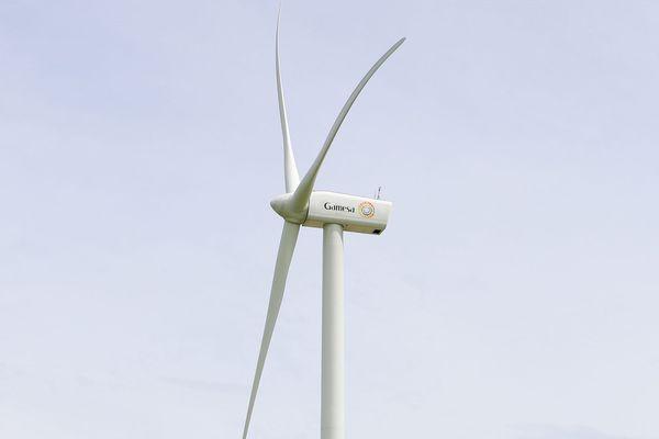 Un éolienne Siemens Gamesa, l'industrel en lice pour équiper le projet du parc Yeu-Noirmoutier