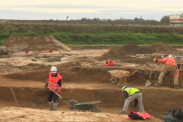 Des récoltes ont été retrouvées, conservées sous terre, pendant au moins 800 ans.
