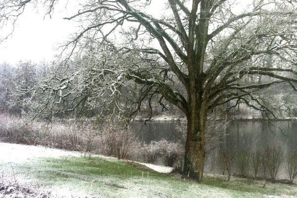 Le Horps en Mayenne a affiché les températures les plus basses des Pays de la Loire dimanche 18 janvier 2015